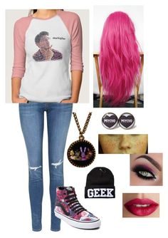"""Ultrviolet-Meeting Him"" by wisegirl308 on Polyvore featuring Topshop, Vans, Freddy and TheBalm"