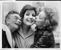 Lucy with her Mother and Daughter    DeDe Ball, Lucie Arnaz, and Lucille Ball in the 1970's.
