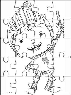 Imrpimir actividades puzzles rompecabezas Mike El Caballero 13 Château Fort, School Worksheets, Games For Toddlers, Crafts For Kids, Craft Projects, Preschool, Classroom, Printables, Animation