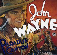 john wayne movie title cards | Vintage Movie Poster Fridge Magnet John Wayne in Paradise Canyon ...