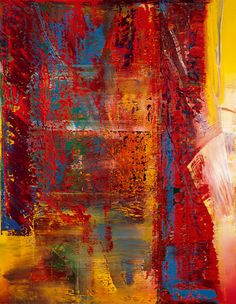 Confus, by Gerhard Richter; Oil on canvas