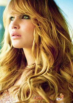 Jennifer Lawrence hair and makeup