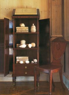 """""""People who collect out of love are exempt from the dictates that govern traditional design, for there are no rules for true lovers."""" - Rose Tarlow in The Private House Rose Tarlow, Create A Board, Traditional Design, China Cabinet, Bookcase, Shelves, Interiors, Interior Design, Storage"""