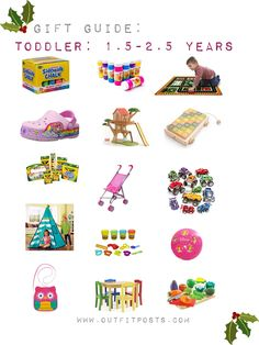 outfit post – gift guide: babies and toddlers Sidewalk Chalk, Outfit Posts, Gift Guide, Baby Shower Gifts, Toddlers, Babies, 5 Years, Kid Stuff, Campaign