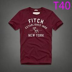 New AF Fitch Establish 1892 New York T10 Fashion Summer Men T-shirt