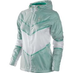 Nike's Cyclone Jacket is a perfect pick for spring. Ultra lightweight but has you covered for wind and rain.