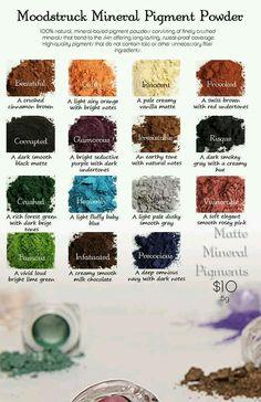 Moodstruck Minerals Pigments Powder #makeup #beauty www.youniqueproducts.com / cathglover