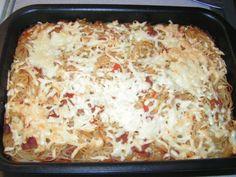 Poměrně rychlá příprava a výborná chuť. Vareni.cz - recepty, tipy a články o vaření. Lasagna, Macaroni And Cheese, Ethnic Recipes, Food, Mac And Cheese, Essen, Meals, Yemek, Lasagne