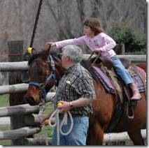 Easter Egg Hunt on Horseback! What a fun idea!