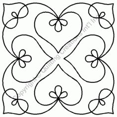 9 Bleeding Heart Medallion Quilting Stencil - 911 - These stencils from QCI are useful in so many ways. Use them for quilting, on walls, curtains, furniture, 911 o Quilting Blogs, Machine Quilting Patterns, Longarm Quilting, Free Motion Quilting, Quilt Patterns, Quilting Ideas, Quilting Projects, Craft Projects, Quilting Frames