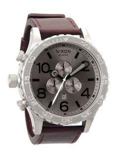 $325 Nixon 51-30 Chrono Leather