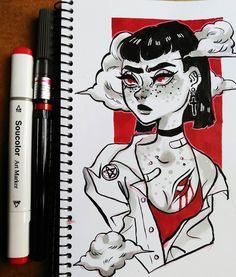 Some old stuff. #drawing #sketchbook #doodle #sketch #marker #copic