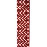 Wayfair - Dark Red Area Rug