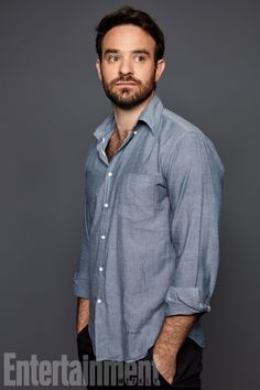 Comic-Con exclusive portraits from ew's studio charlie cox. Daredevil Punisher, Celebrity Photography, Famous Men, Marvel Movies, Slimming World, Sexy Men, Hot Men, Actors & Actresses, Hot Guys