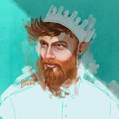 Illustrative Works by German Gonzalez | Abduzeedo Design Inspiration