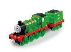 Thomas the Train: Take-n-Play Pull n' zoom Henry. Just pull Henry back and watch him zoom. Diecast metal engine. Works with Thomas Take-n-Play and take along sets. Zooms off the track too. Collect all your favorite friends from Thomas and Friends.
