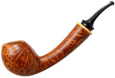 Pretty little acorn.  Bruce Weaver Smooth Bent Acorn Boxwood Pipes at Smoking Pipes .com