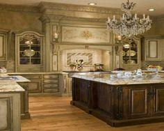 100 Küchen Designs – Möbel, Arbeitsplatten und zahlreiche Einrichtungslösungen - küche einrichtung rustikal klassisch pompös