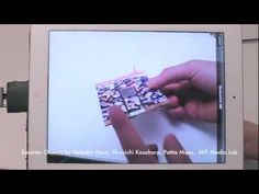 MIT Smarter Objects Augmented Reality User Interface - YouTube