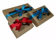 7af5b56ab 30 Cajas Grandes Kraft Para Reposteria Chocolates 165cu en Mercado Libre  México