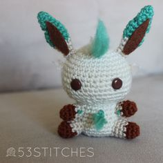 I promised this guy a couple of weekends ago, so thank-you for waiting patiently! Here's Leafeon! I've never actually played the generation of Pokemon games that Leafeon and Glaceon are from, but I...