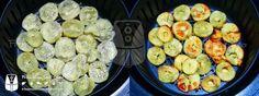 Batata-Doce Frita na AirFryer | Fritadeira sem Óleo - AirFryer Batata Doce Air Fryer, Air Flyer, Multi Cooker Recipes, Air Frier Recipes, Multicooker, Carne, Sausage, Fries, Low Carb