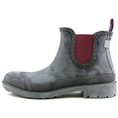 Ted Baker Ted Baker Ephai Men Round Toe Synthetic Rain Boot ($98) ❤ liked on Polyvore featuring men's fashion, men's shoes, men's boots, blue, shoes, mens blue boots, ted baker mens boots, mens rain boots, mens rubber rain boots and mens round toe cowboy boots