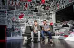 Music Room Typography Mural by Alex Fowkes (15 Pictures   Clip)