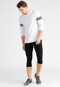 Dieses clevere T-Shirt hilft dir dabei cool zu bleiben. adidas Performance RESPONSE - Langarmshirt - white/black für 34,95 € (10.12.15) versandkostenfrei bei Zalando bestellen.