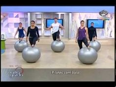 ▶ Vibe Academia - Pilates com Bola - YouTube