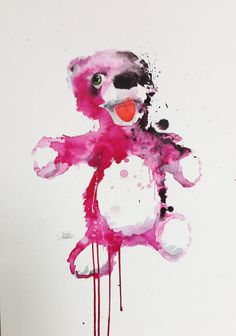 Untitled teddy bear by Jessica Deahl