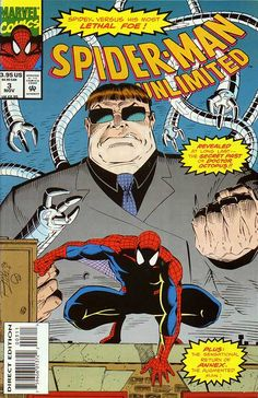 Spider-Man Unlimited # 3 by Ron Lim & Jim Sanders III