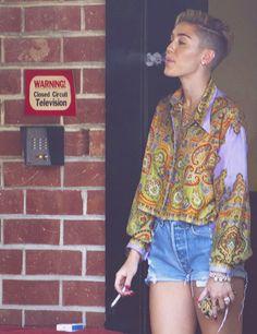 miley cyrus, #smoking