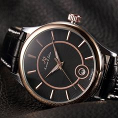 Women watch,Men watch, Automatic Watch, Luxury Watch, Steampunk Leather Mechanical Watch,Black leather,Watches,Stainless Steel,Rose Gold Leather Watches, Black Leather Watch, Men Watch, Mechanical Watch, Automatic Watch, Ballerina, Watches For Men, Dancing, Steampunk