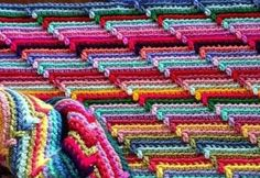 This links to some really good instructions and images: Apache Tears FREE Pattern, a really amazing look using this design stitch
