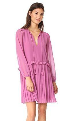 Rebecca Minkoff Women's Morrison Dress, Red Violet. Look pretty in pink