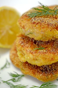Cod Cakes. Scroll way down on the web site for the recipe