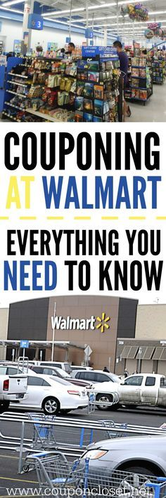 Couponing at Walmart - Tips you need to know before you shop. Couponing at Walmart - here are some tips to help you save big at Walmart. Couponing at walmart doesn't hasn't to be hard with these tips. How To Start Couponing, Couponing For Beginners, Couponing 101, Extreme Couponing, Shopping Coupons, Grocery Coupons, Shopping Hacks, Target Coupons, Store Hacks