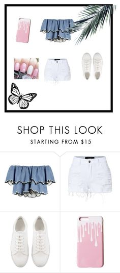"""""""Untitled #9"""" by fotinaki06 ❤ liked on Polyvore featuring HUISHAN ZHANG and LE3NO"""