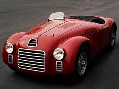 1947 #Ferrari car (125 S) First Ferrari automobile ever ~ Ferrari