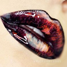 Marbled Lip Stick