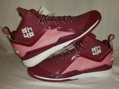 buy online 9fdc4 00707 Adidas Dwight Howard 5 Basketball Shoes Big Foot Mens Size 17 US Red White  New