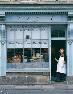 Ann-Marie in front of her shop. I hold her almost solely responsible for my expanding waist line. Great bread, cheese, charcuterie but also a lovely coffee shop with fantastic crab sandwiches, soups and cakes.The Fine Cheese Co. Bath Uk, Cheese Shop, Cafe Shop, Shop Fronts, England And Scotland, Shop Around, Spa, Toscana, World Heritage Sites