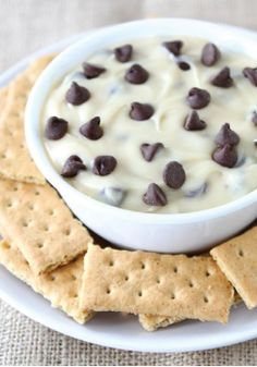 This dip recipe tastes just like chocolate chip cookie dough! Satisfy your sweet tooth with this easy dessert.