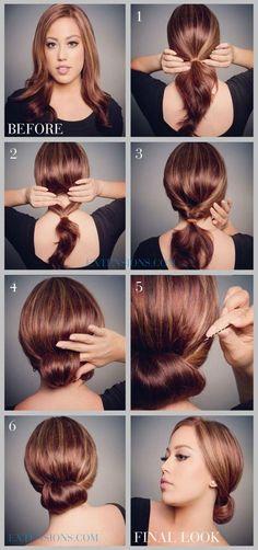 14 Hermosos Y Fáciles Peinados Que Dan La Ilusión De Ser Más Elaborados - Magazine Feed
