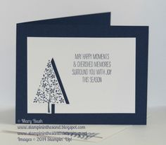 A N.O.N. Festival of Trees Inside by MaryEB - Cards and Paper Crafts at Splitcoaststampers