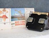 Vintage Bakelite View Master Toy and Reels