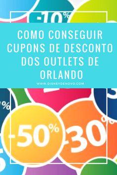 Orlando, compras, compras em Orlando, Outlets de Orlando, cupom de desconto, cupom de desconto Orlando
