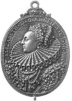 Silver Medal of Elizabeth I commemorating the Armada,c. 1588