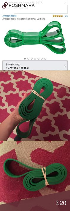 Resistance Pull Up Band Resistance Pull Up Band. Never been used. Other